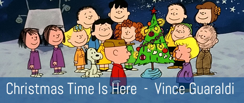 Christmas Time Is Here, Vince Guaraldi - fingerstyle guitar arrangement