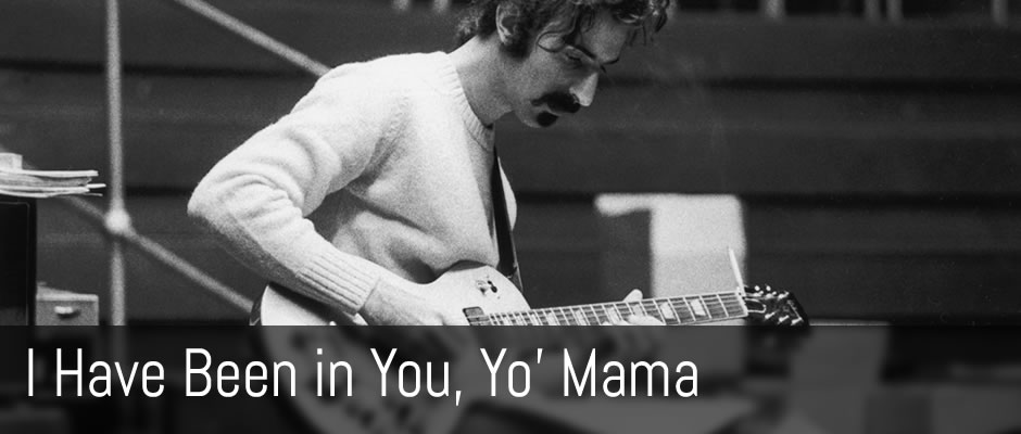Frank Zappa for fingerstyle guitar