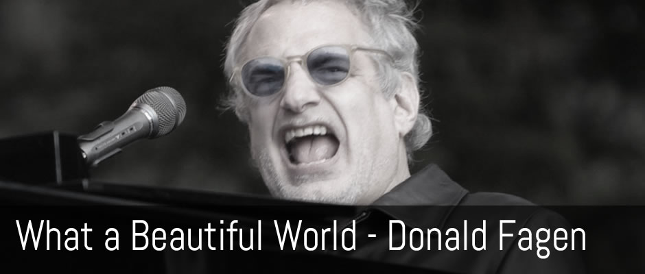 I.G.Y., What a Beautiful World, Donald Fagen - fingerstyle guitar arrangement, Jake Reichbart