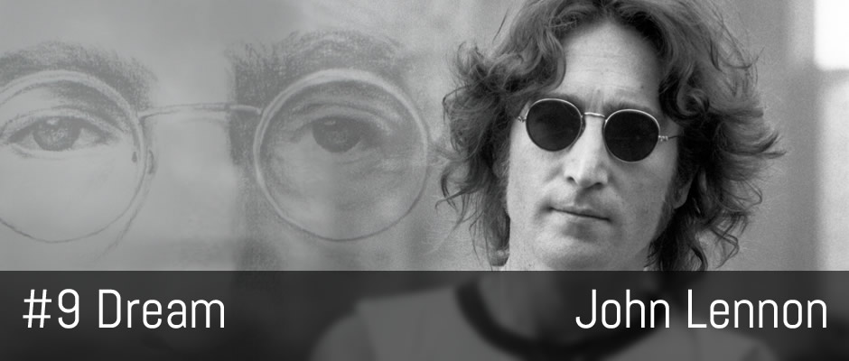 Image result for john lennon #9 dream images