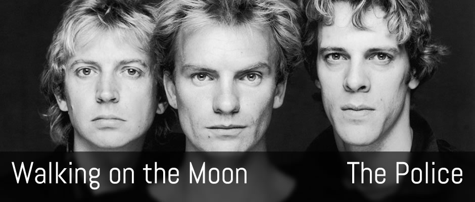 Walking on the Moon, The Police - guitar arrangement
