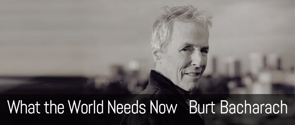 What the World Needs Now, Burt Bacharach, fingerstyle guitar