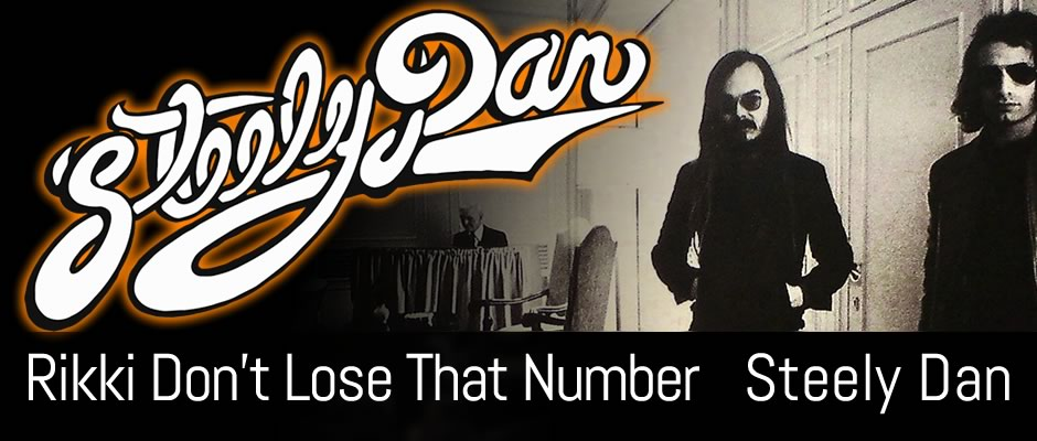 Rikki Don't Lose That Number, Steely Dan, Solo Guitar