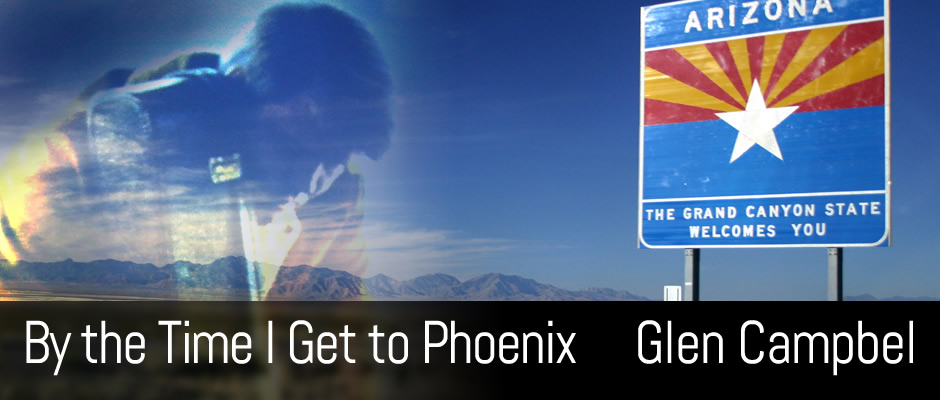 By the Time I Get to Phoenix, Glen Campbel, Cover
