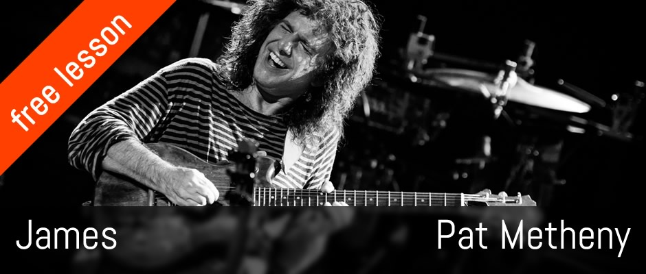 James, Pat Metheny, Solo Guitar Cover & Lesson