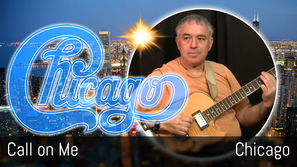 Call on Me, Chicago, fingerstyle solo guitar