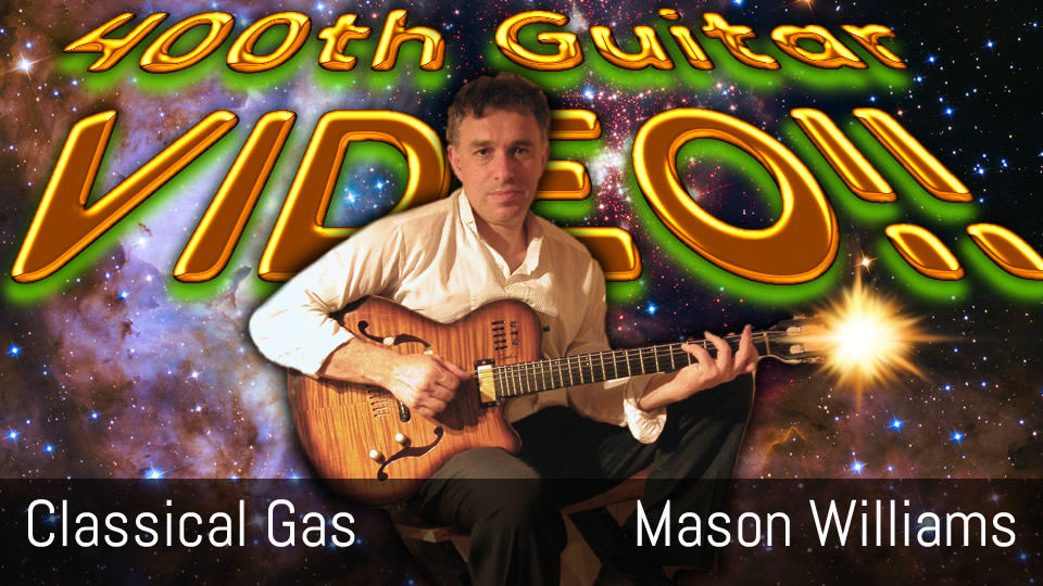 Classical Gas, Mason Williams, Tommy Emmanuel, fingerstyle solo guitar