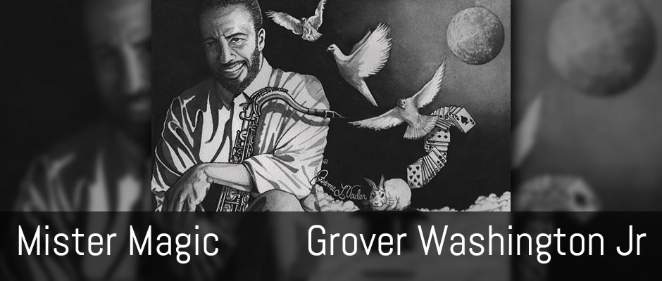 Mister Magic, Grover Washington Jr., fingerstyle solo guitar