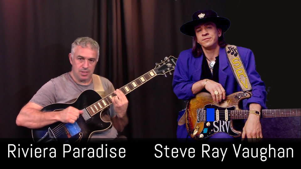 Riviera Paradise, Stevie Ray Vaughan, Fingerstyle Guitar