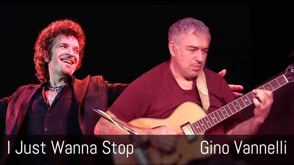 I Just Wanna Stop, Gino Vannelli, fingerstyle guitar