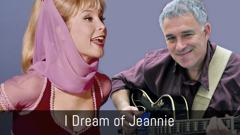 Theme from I Dream of Jeannie, solo jazz guitar
