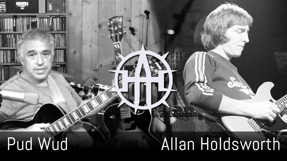 Pud Wud, Allan Holdsworth, solo guitar arrangement