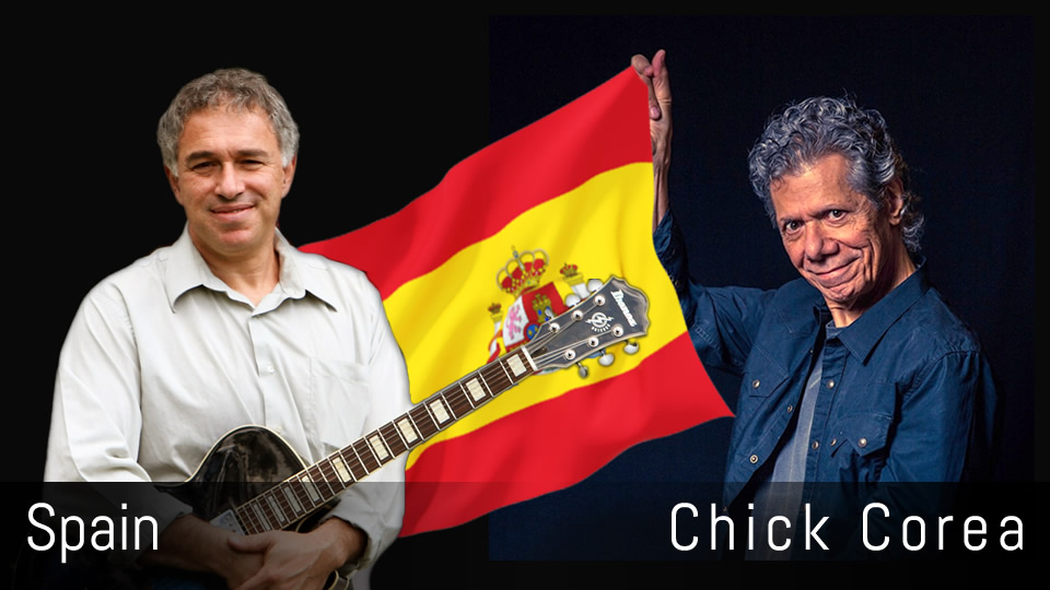 Spain, Chick Corea, solo jazz guitar