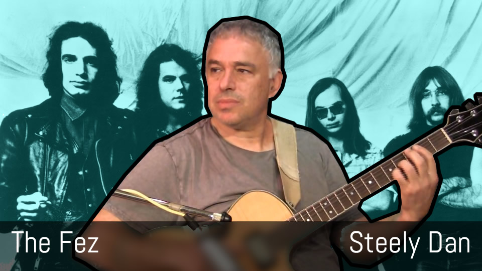 The Fez - Steely Dan - Fingerstyle Acoustic Guitar