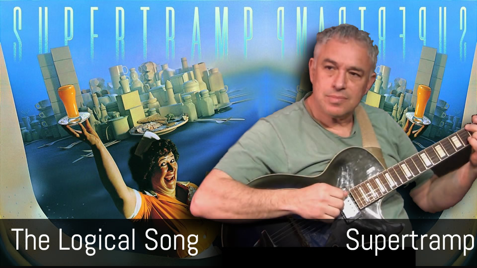 The Logical Song, Supertramp, fingerstyle guitar