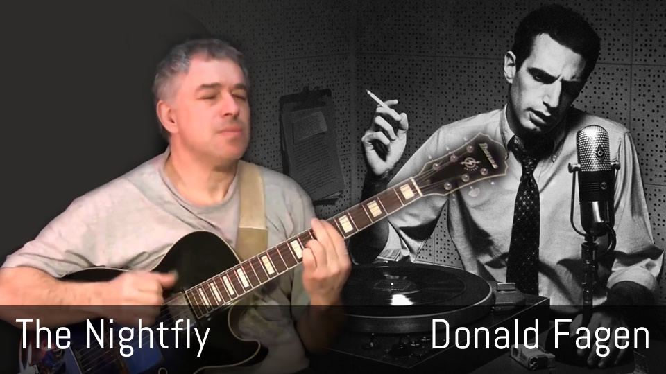 The Nightfly, Donald Fagen, Fingerstyle Guitar
